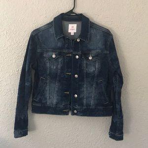 Lularoe Harvey Denim Jacket Size Small